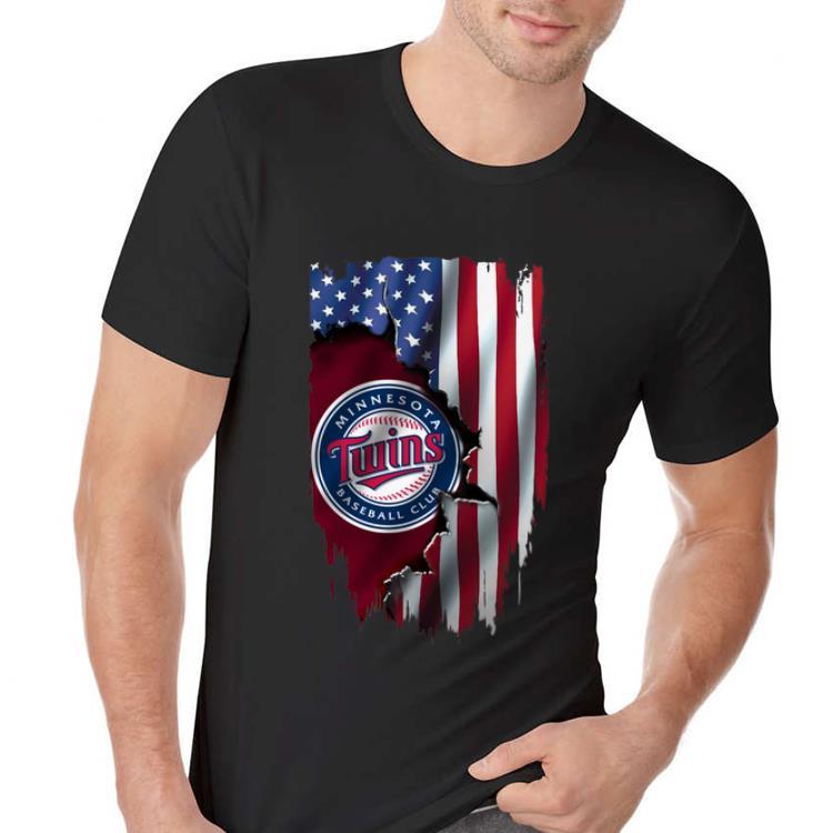 American Flag Minnesota Twins MLB