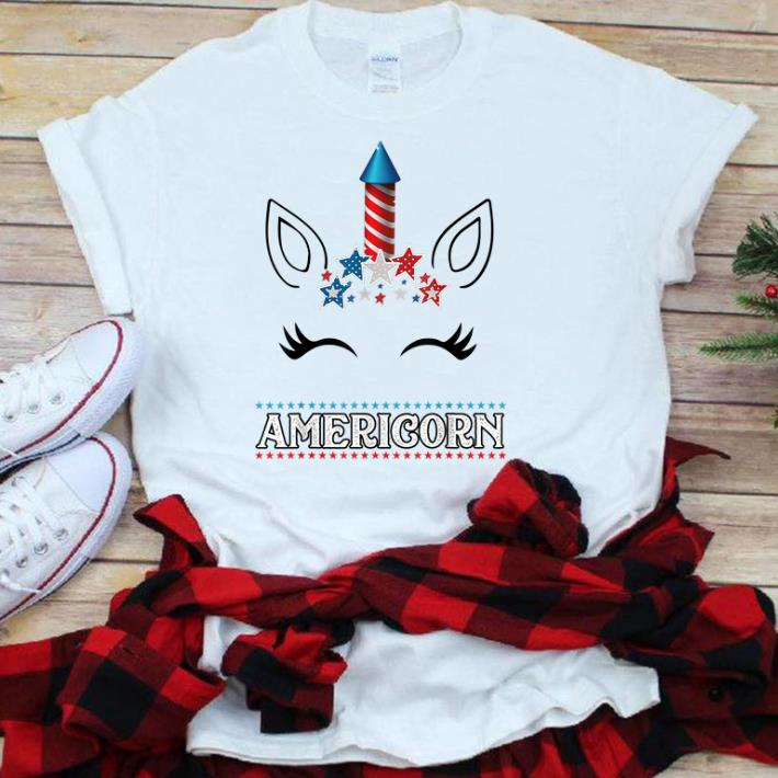 Americorn Unicorn Face 4th Of July Gift Us Flag Star Merica sjirt 1 - Americorn Unicorn Face 4th Of July Gift Us Flag Star Merica sjirt