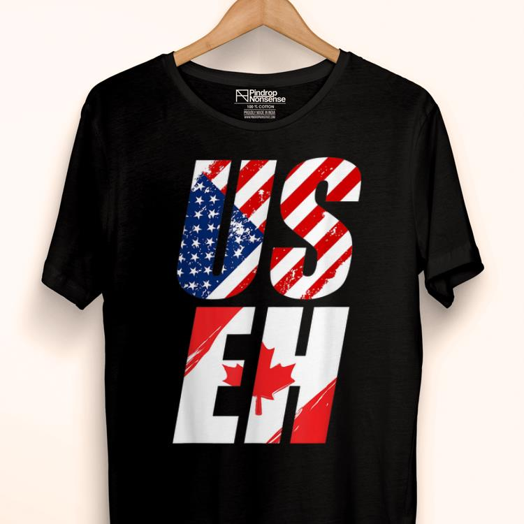 Awesome Canada Canadian Flag American Usa Useh shirt