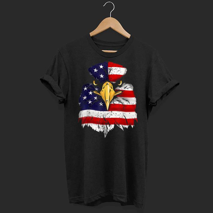 Bald Eagle American Flag 4th Of July Patriotic Freedom Usa shirt