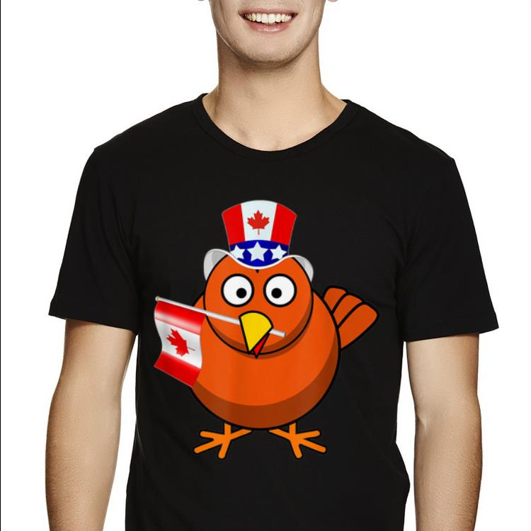 Canada - Maple Leaf Chicken Canadian Flags shirt