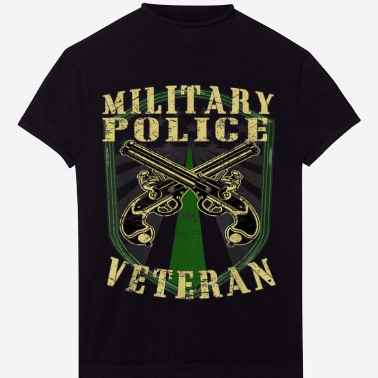 Military Police Corps Veteran US Army shirt