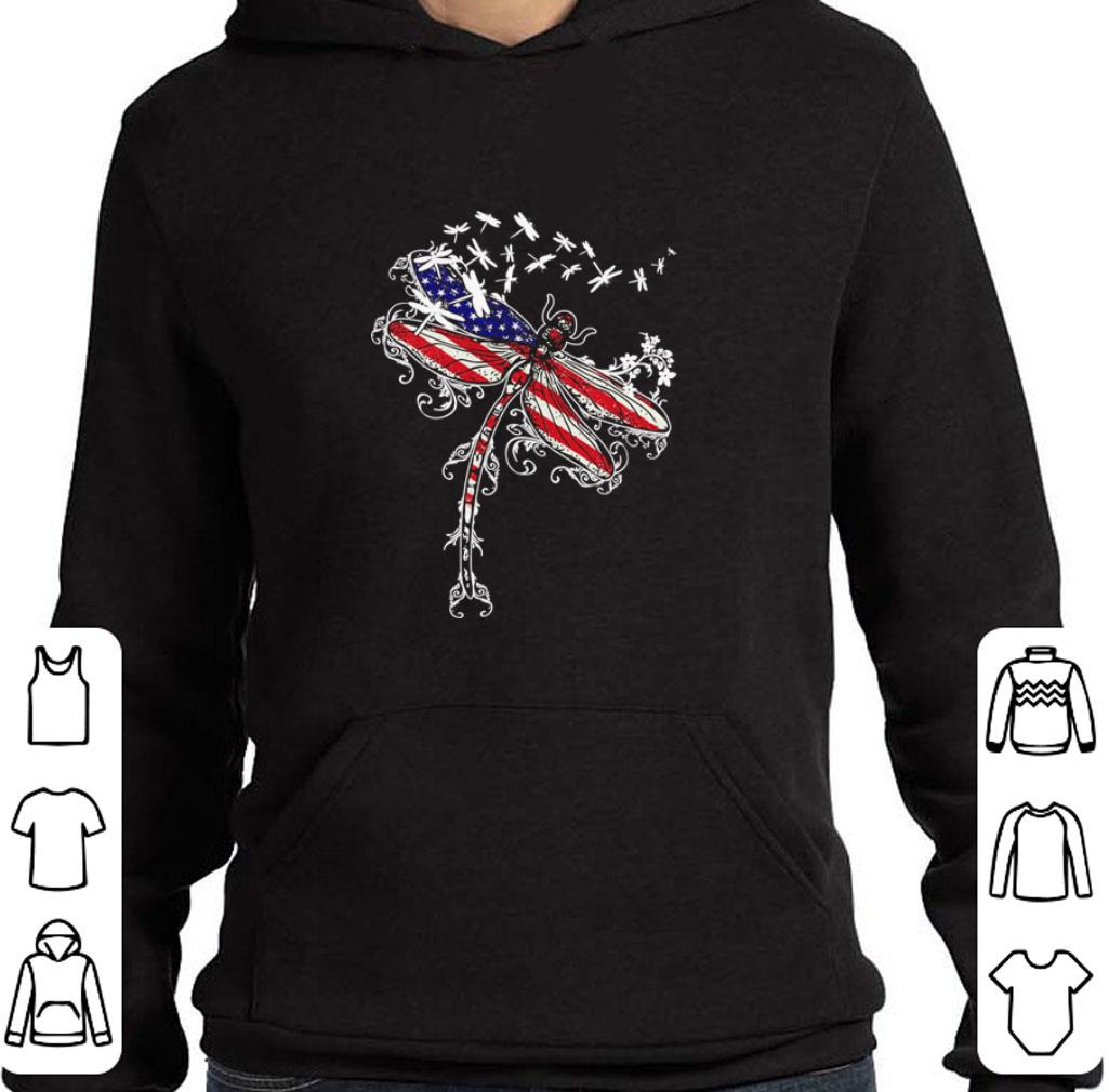 Nice American flag Dragonfly 4th of july shirt 4 - Nice American flag Dragonfly 4th of july shirt