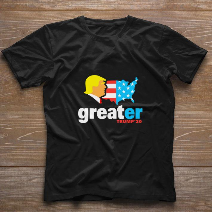 Nice Donald Trump make America greater Trump'20 shirt
