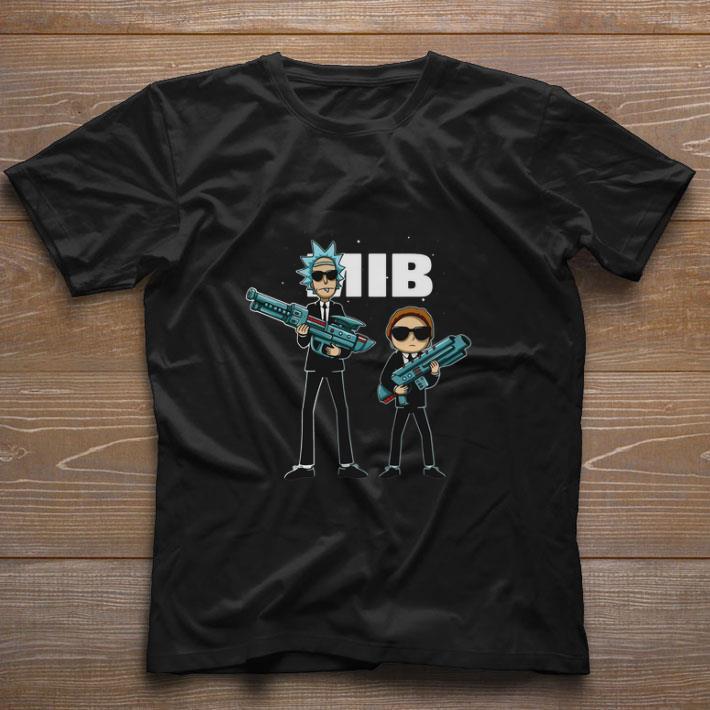 Nice Rick and Morty MIB Men in Black International 2019 shirt