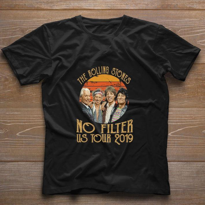Nice The Rolling Stones no filter us tour 2019 shirt