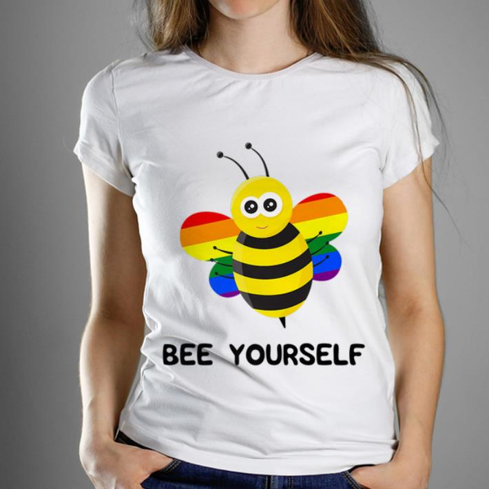 Official Rainbow Bee LGBT And Gay Pride Shirt