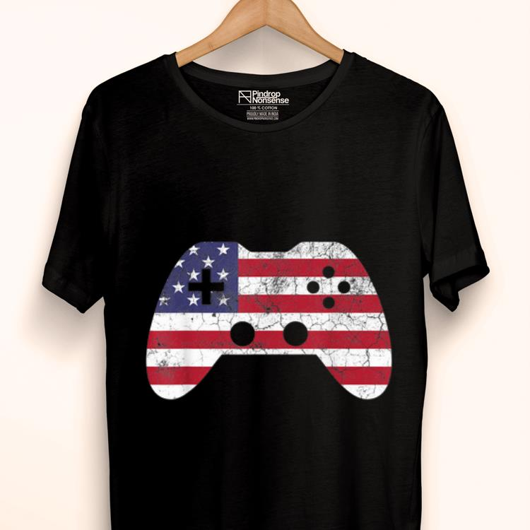 Original 4th Of July Gift Video Game Gamer Usa shirt