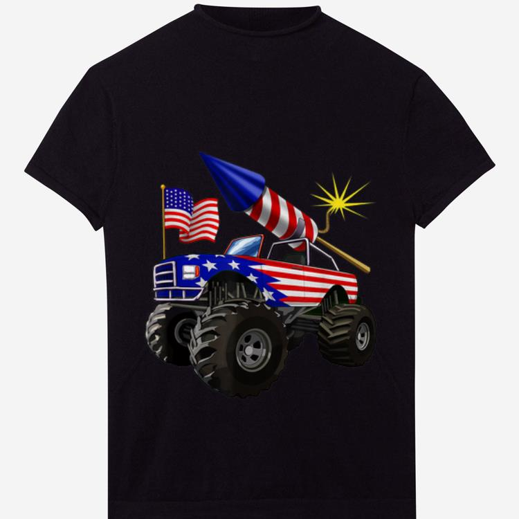 Original 4th Of July Monster Truck American Flag Gift Shirt 1 1.jpg