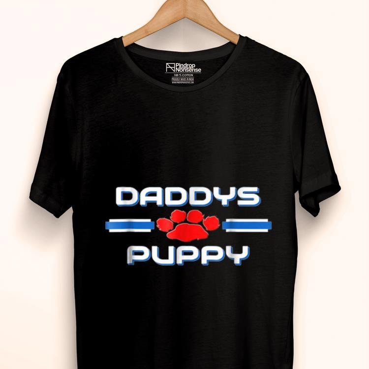 Original Gay Daddy Puppys Pup Play Fetish Kink Bdsm Tees Shirt