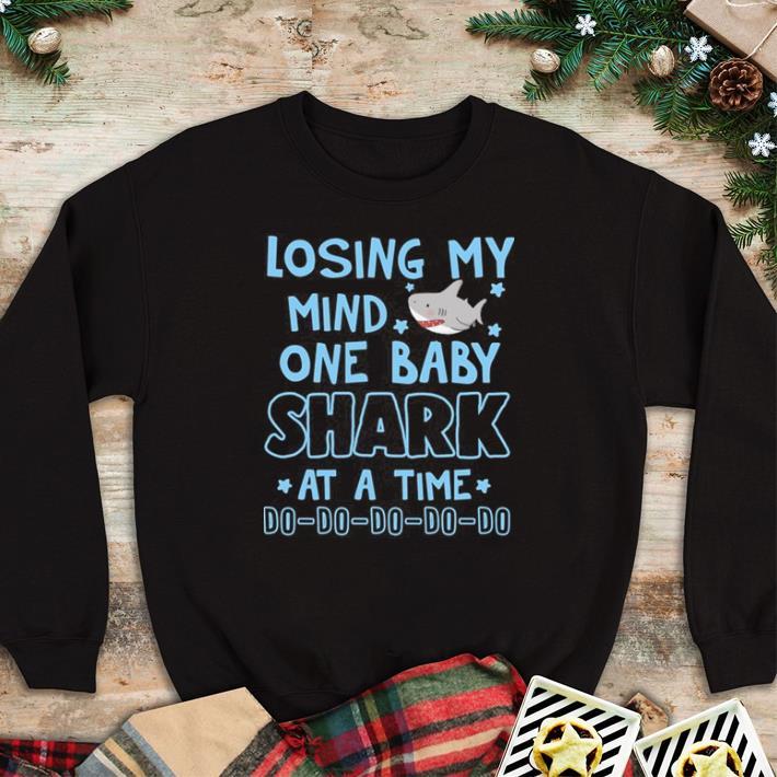 Original Losing my mind one baba shark do do do shirt 4 - Original Losing my mind one baba shark do do do shirt