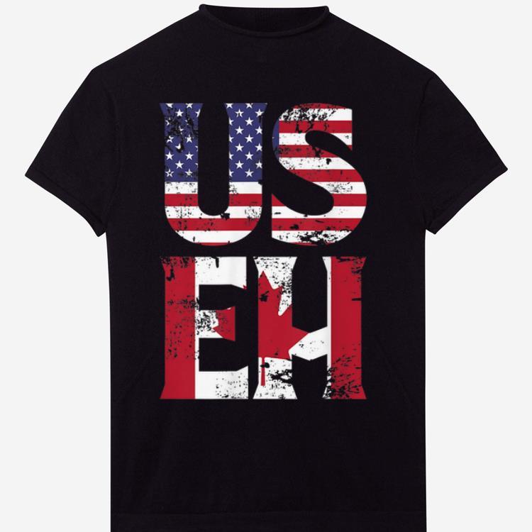 Original US EH American Canadian Funny Meme Quote shirt