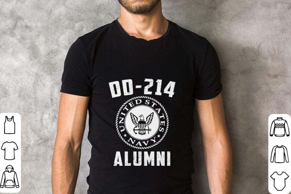 Original United States Navy DD-214 Alumni shirt