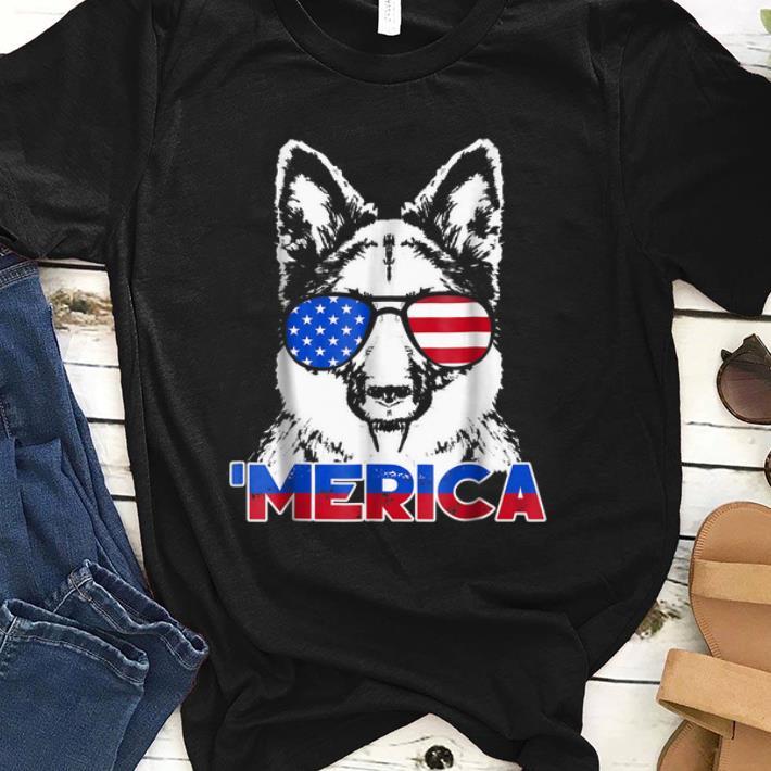 Patriot German Shepherd merica Tee shirt 1 - Patriot German Shepherd 'merica Tee shirt