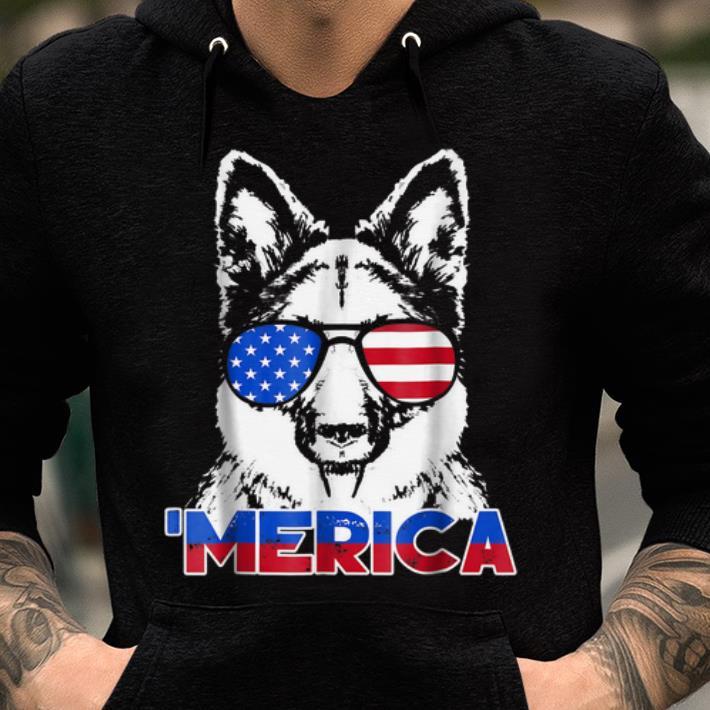 Patriot German Shepherd 'merica Tee shirt