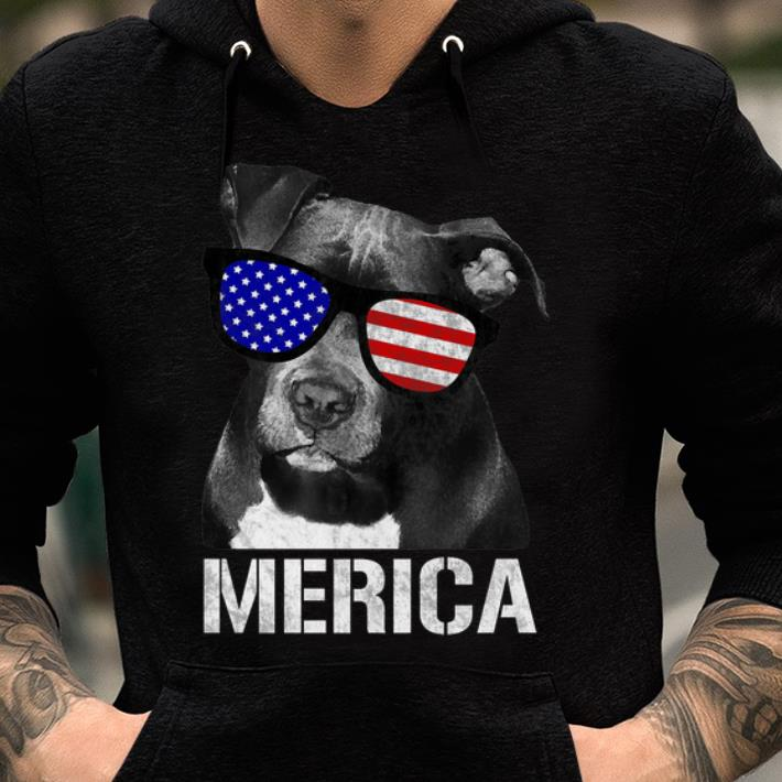 Pitbull Merica Patriotic Dog Pit Bull Gift shirt