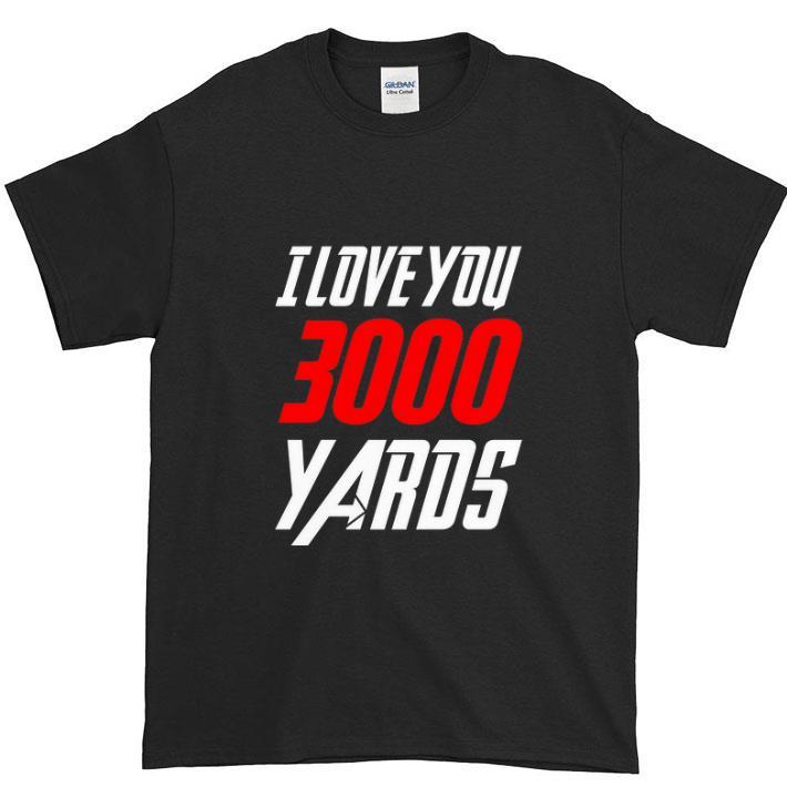 Pretty Avengers Iron Man I love you 3000 Yaros shirt
