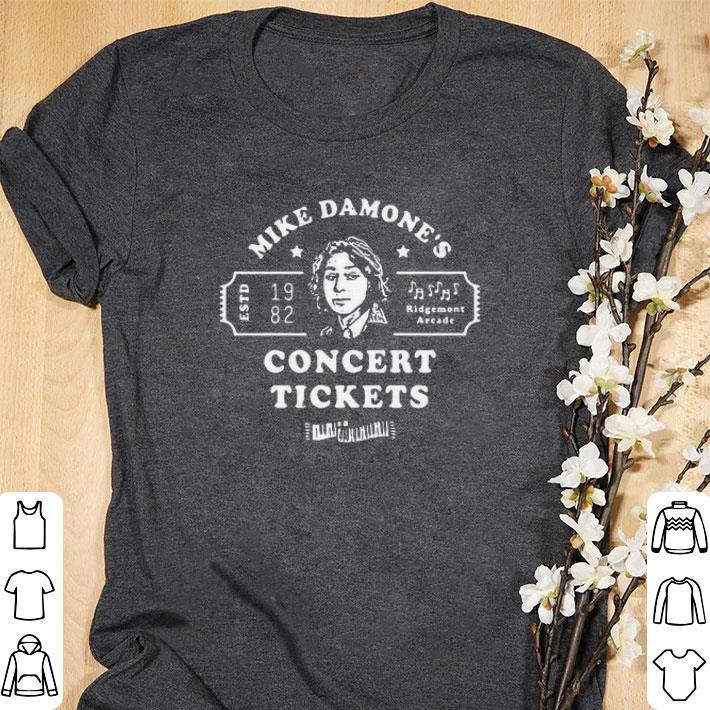 Pretty Mike Damone's 1982 Ridgemont Areade concert tickets shirt