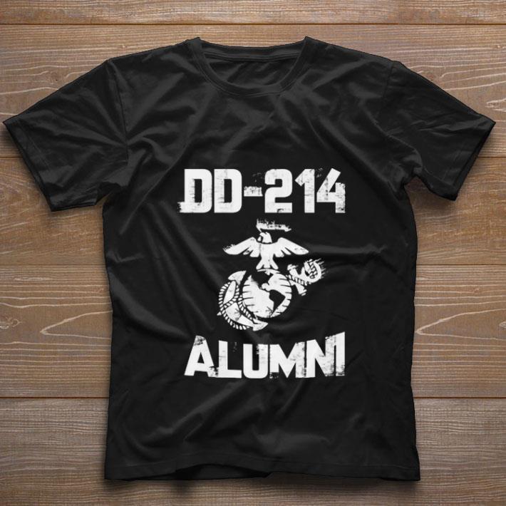 Pretty U.s marine DD-214 alumni shirt