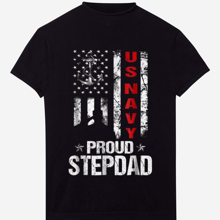 US Navy Proud Stepdad Veteran shirt 1 - US Navy Proud Stepdad Veteran shirt