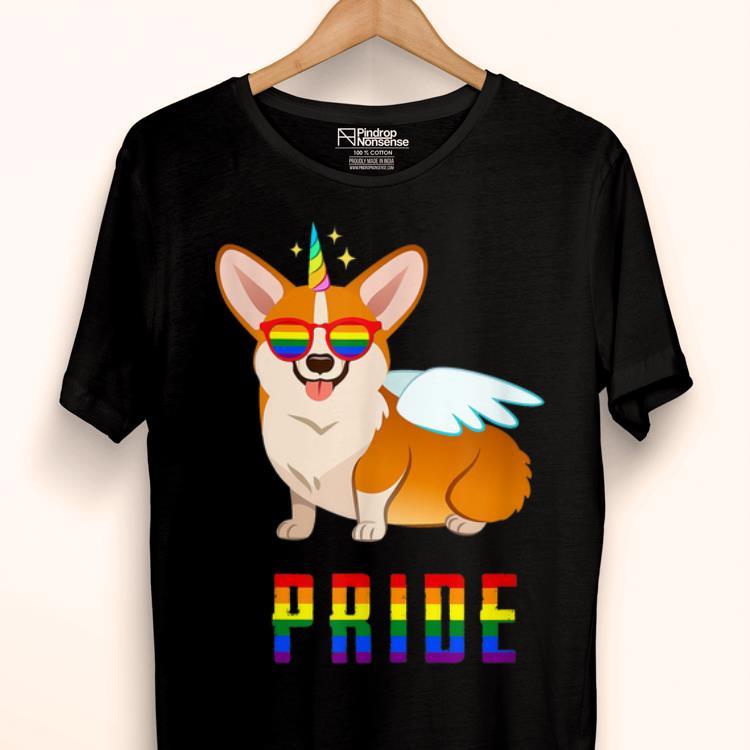 Unicorn Corgi Dog PRIDE LGBT Gay Pride 2019 shirt 1 - Unicorn Corgi Dog PRIDE- LGBT Gay Pride 2019 shirt