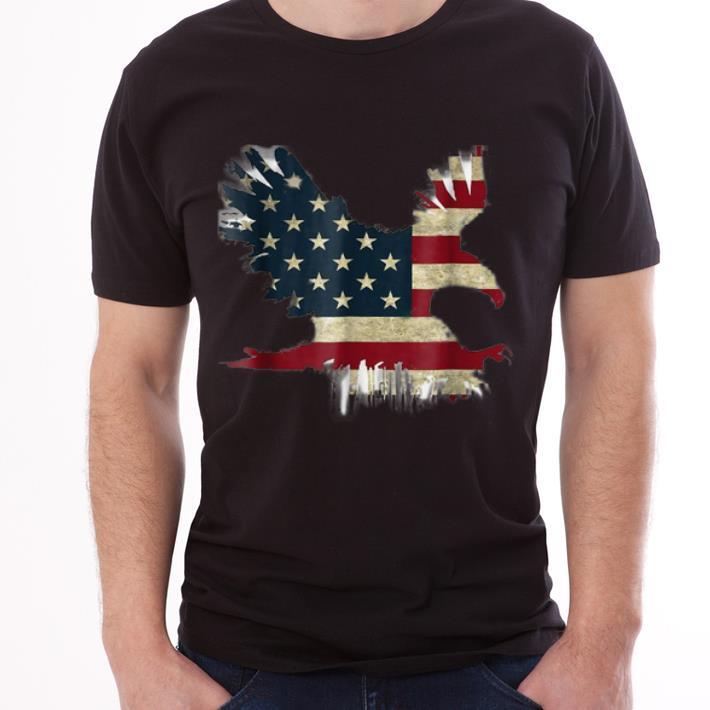 United States Of America Usa Flag Flying Eagle shirt