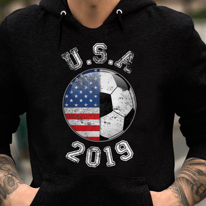 Usa Flag 2019 France - Women's World Soccer shirt