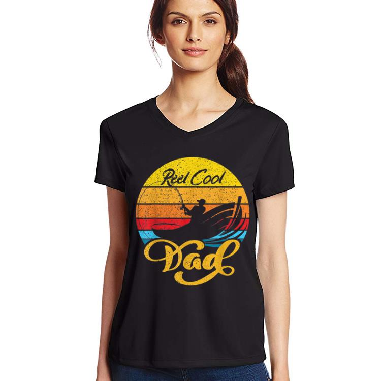 Vintage Reel Cool Dad Fishing Father Day shirt