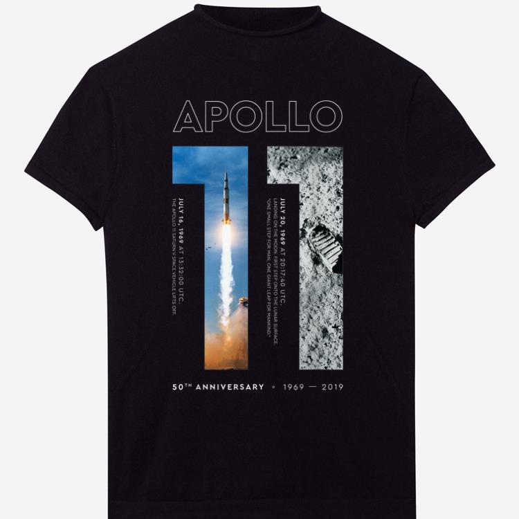 Apollo 11 50th Anniversary Moon Landing 1969 2019 First Step Onto The Lunar shirt 1 - Apollo 11 50th Anniversary Moon Landing 1969-2019 First Step Onto The Lunar shirt