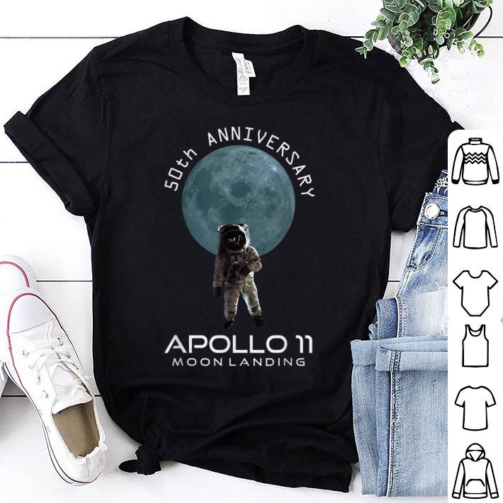 Awesome 50th Anniversary Apollo 11 Moon Landing Space One First Step shirt