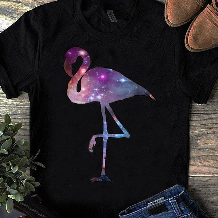 Awesome Cosmic Flamingo Animal Trippy Galaxy Designs shirt