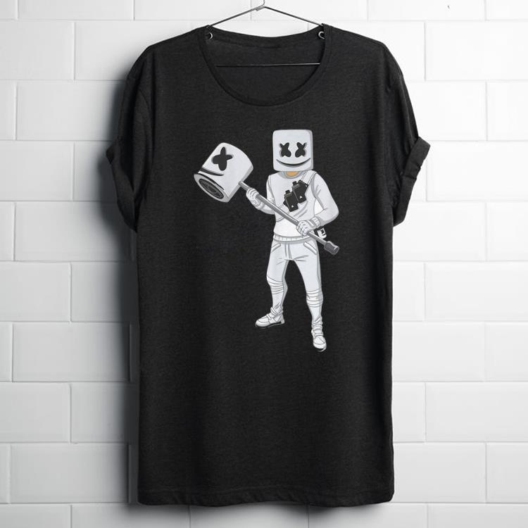 Awesome Dabbing Marshmallow With Marshmello Hammer shirt