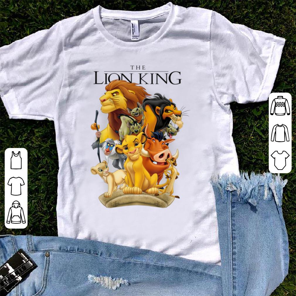 Awesome Disney Lion King Pride Land Characters Graphic shirt