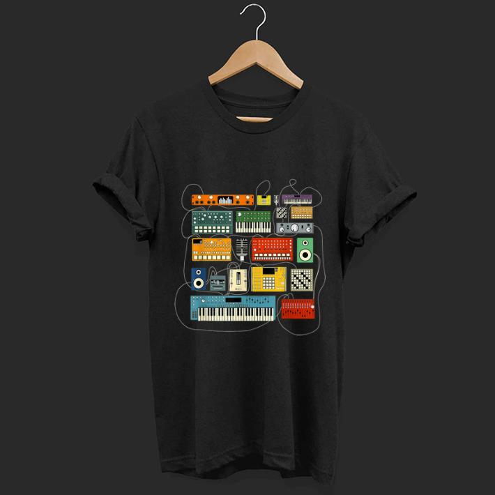 Awesome Synthesizer And Drum Machine Dj Electronic Musician shirt