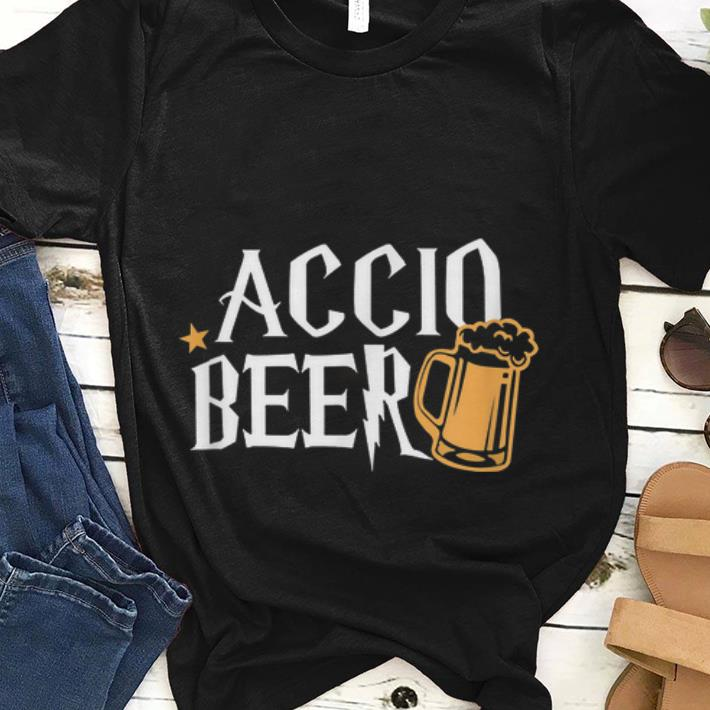 Best price Accio Beer Harry Potter Magic Spell Drink shirt