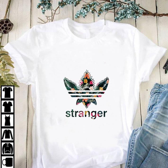 Funny Demogorgon Adidas Stranger Things Flower shirt
