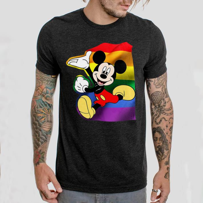 Funny LGBT Mickey Mouse shirt