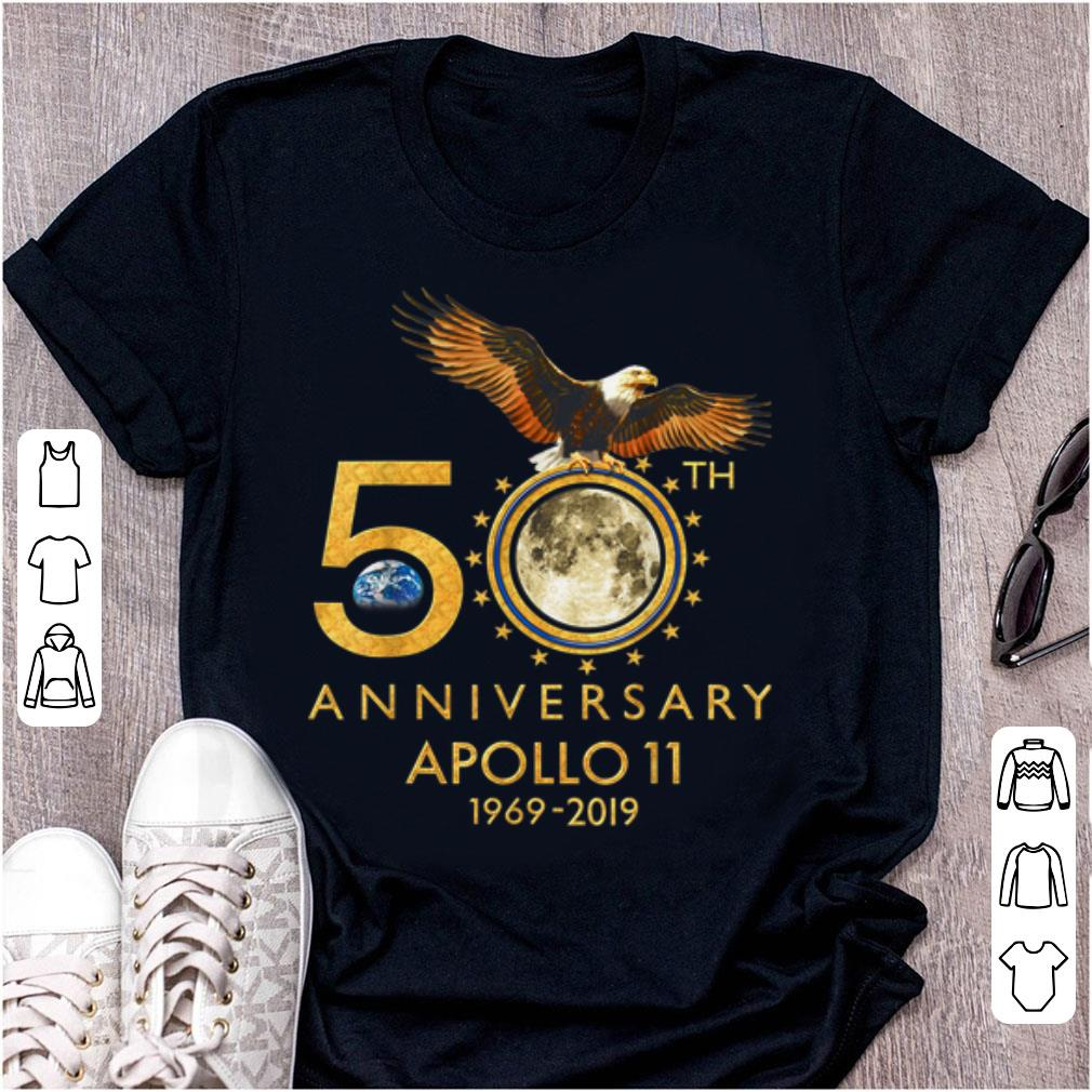 Hot 50th Anniversary Apollo 11 1969 Moon Landing First Step On The Moon shirt