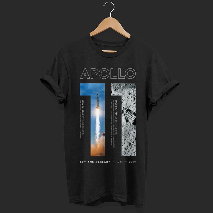 Hot Apollo 11 50th Anniversary Moon Landing 1969 2019 shirt