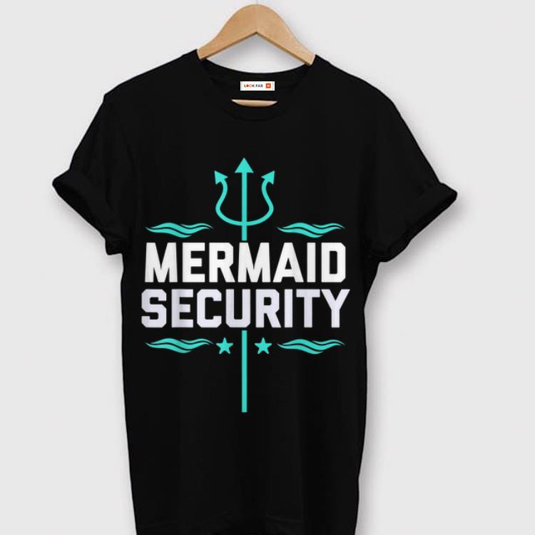 Hot Mermaid Security Trident shirt 1 - Hot Mermaid Security Trident shirt