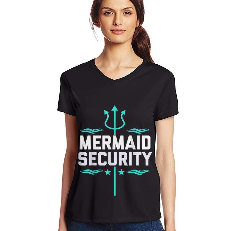 Hot Mermaid Security Trident shirt