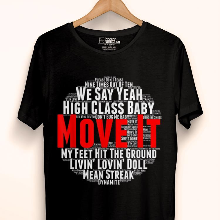 Hot Move It Classic British Rock And Roll Music shirt 1 - Hot Move It Classic British Rock And Roll Music shirt