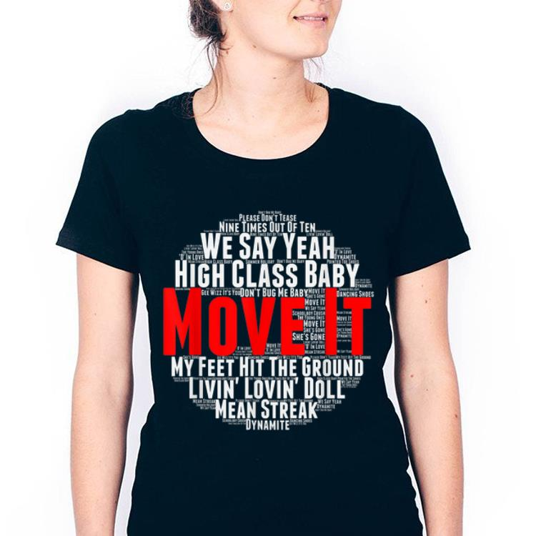 Hot Move It Classic British Rock And Roll Music shirt