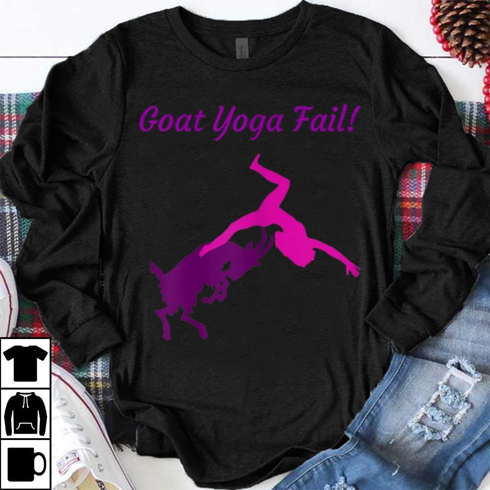 Hot trend Goat Yoga Fail sweater