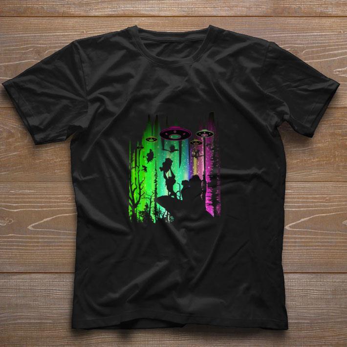 Nice Area 51 The Lion King UFOs shirt
