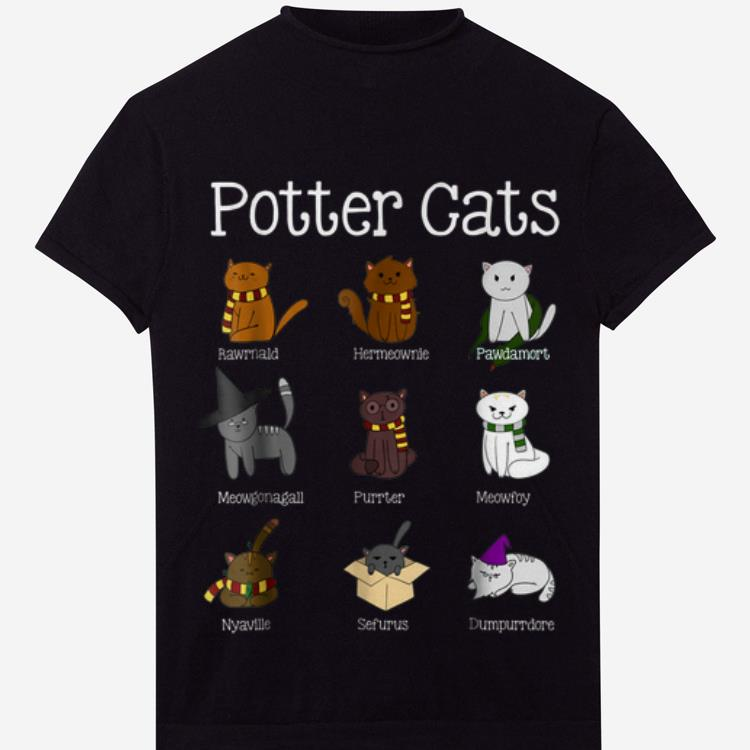 Official Harry Potter Kind Of Cats shirt