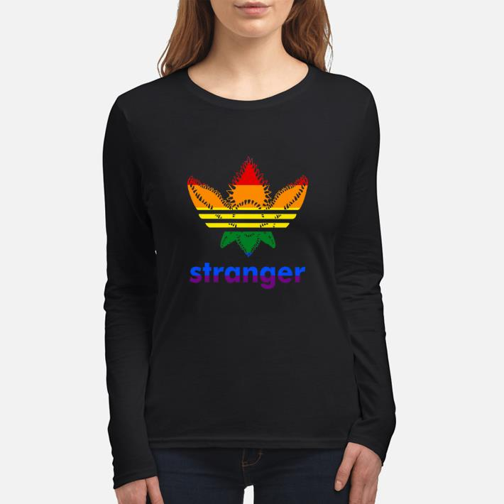 Official LGBT Adidas Stranger Things shirt