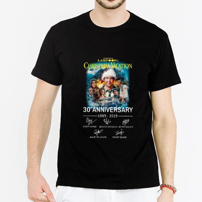 Christmas Vacation Sweaters.Original National Lampoon S Christmas Vacation 30th Anniversary Signatures Shirt