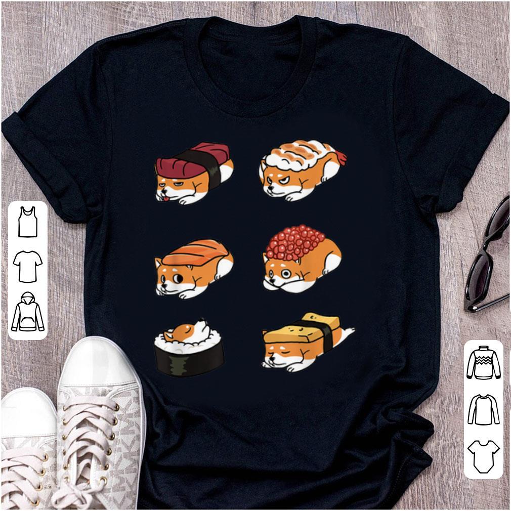 Original Shiba Inu Japanese Sushi 50 Shades Of Dog shirt