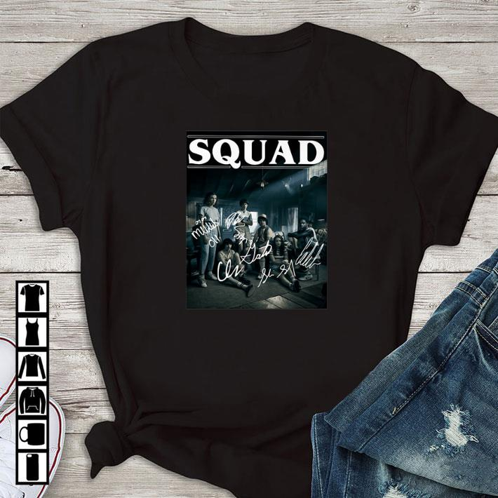 Original Stranger Things 3 Squad Signatures Characters shirt